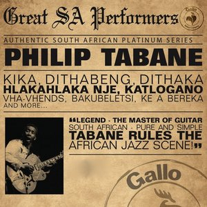 Image for 'Great South African Performers - Philip Tabane'