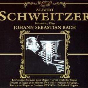 Imagem de 'Albert Schweitzer Plays Johann Sebastian Bach'