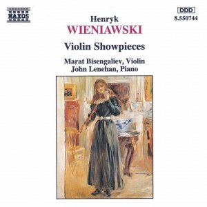 Image for 'WIENIAWSKI: Violin Showpieces'