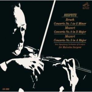 Image for 'Bruch: Violin Concerto No. 1 in G Minor, Op. 26; Mozart: Violin Concertos No. 4 in D Major, K.218 & No. 5 in A Major, K.219 - Sony Classical Originals'