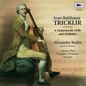 Image for 'Tricklir: 4 Concertos for Cello and Orchestra'