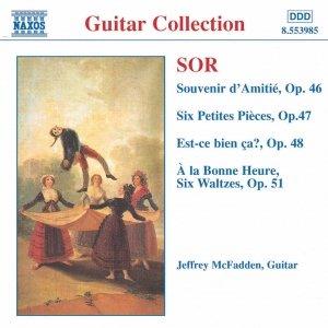 Image for 'SOR: Souvenir d'Amitie / 6 Petites Pieces, Op. 47'