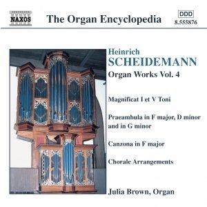 Image for 'SCHEIDEMANN: Organ Works, Vol.  4'