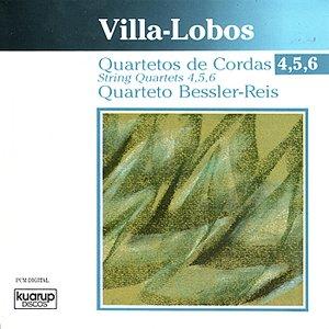 Image for 'Villa-Lobos: String Quartets 4, 5, 6'