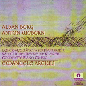 Image for 'Alban Berg - Anton Webern : Complete Piano Music'