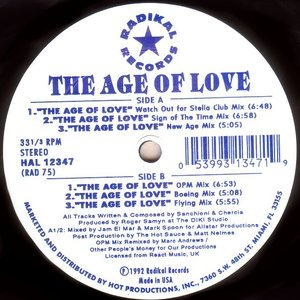 Image for 'The Age of Love'