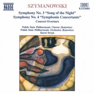 Image for 'SZYMANOWSKI: Symphonies Nos. 3 and 4'