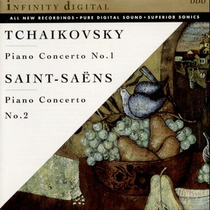Image for 'Tchaikovsky-Saint-Saens: Piano Concerti'