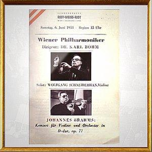 Image for 'Johannes Brahms: Konzert für Violine und Orchester in D-Dur, op. 77: III. Satz'