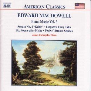 Image for 'MACDOWELL: Piano Sonata No. 4 / 6 Poems / 12 Virtuoso Studies'