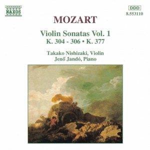 Immagine per 'Violin Sonata No. 23 in D major, K. 306: I. Allegro con spirito'