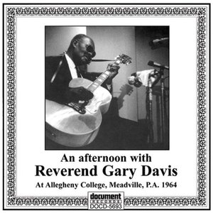 Image for 'An Afternoon with Reverend Gary Davis'