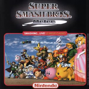 """Super Smash Bros. Melee""的封面"