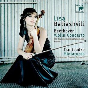 Image pour 'Beethoven: Violin Concerto & Tsintsadze: Miniatures'