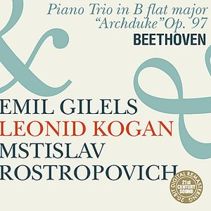 """Image for 'Beethoven: Piano Trio """"Archduke""""'"""