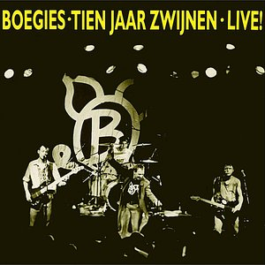 Image for 'Tien Jaar Zwijnen (Live)'