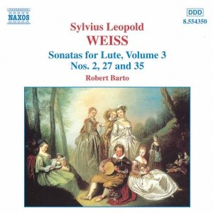Image for 'WEISS: Lute Sonatas Nos. 2, 27 and 35'