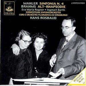 Bild för 'Mahler: Sinfonia N. 4; Brahms: Alt-Rhapsodie Op. 53'
