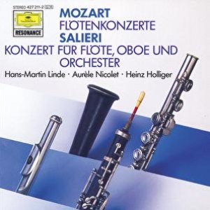 Image for 'Mozart: Flute Concertos; Salieri: Concerto for Flute and Orchestra'