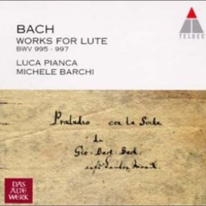 Image for 'Bach- The Chamber Music Volume 11 - Works For Lute Bwv 995 - 997'
