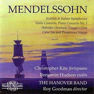 Bild für 'Mendelssohn: Symphonies 3&4, Violin & Piano Concertos'