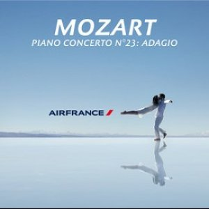 Image for 'Mozart: Piano Concerto No. 23 in A, K. 488: II. Adagio (Air France TV Ad) - Single'