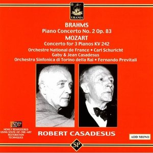 Image pour 'Piano Concerto No. 2 In B Flat Major, Op. 83: II. Allegro Appassionato (Brahms)'