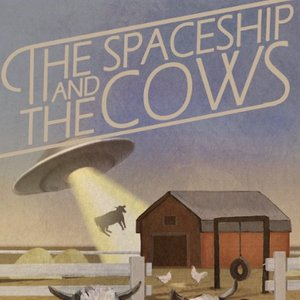Immagine per 'the Spaceship and the Cows'