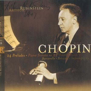 """Image for 'Rubinstein Collection, Vol. 16: Chopin: 24 Preludes, Berceuse, Barcarolle, Sonata No. 2 (""""Funeral March""""), Impromptu No.3'"""