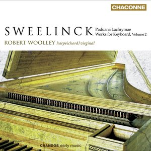 Image for 'Sweelinck, J.P.: Keyboard Music, Vol. 2  - Toccatas / Pavana Lachrymae / Fantasia Chromatica'