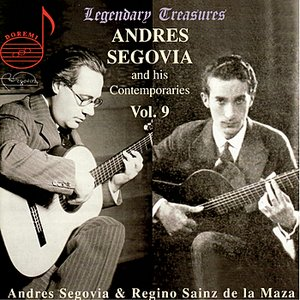Immagine per 'Andres Segovia and His Contemporaries Vol. 9'