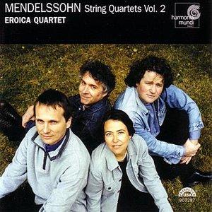Image for 'Mendelssohn: String Quartets Vol. 2'