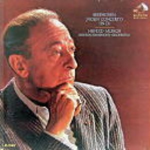 Imagem de 'Jasha Heifetz, Violin; Charles Munch, Conductor; Boston Symphony Orchestra'