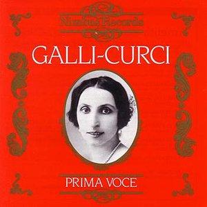 Bild för 'Prima Voce: Galli-Curci'