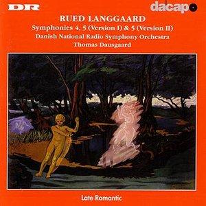 Image for 'LANGGAARD: Symphonies Nos. 4 and 5'