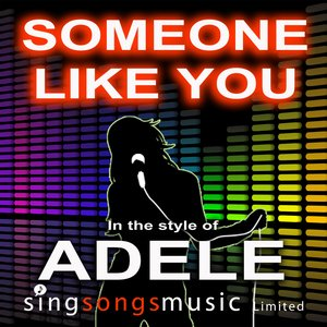 Immagine per 'Someone Like You (In the style of Adele)'