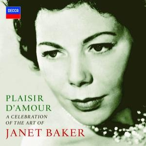 Image for 'Plaisir d'amour - A Celebration of the Art of Dame Janet Baker (2 CDs)'