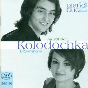 Bild für 'Piano Duo Recital: A. Kolodochka / E. Kolodochka - Rachmaninov, S. / Liszt, F. / Mozart, W.A. / Poulenc, F. / Milhaud, D. (Piano Duo, Vol. 2)'