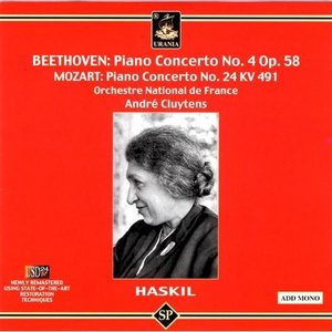 Image for 'Clara Haskil Plays Mozart and Beethoven'