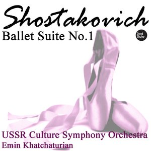 Image for 'Shostakovich: Ballet Suite No.1'
