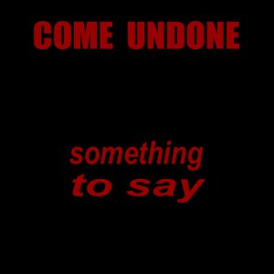 Image for 'Something To Say'