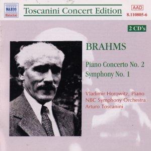 Image for 'BRAHMS: Piano Concerto No. 2 / Symphony No. 1 (Toscanini, Horowitz) (1940)'
