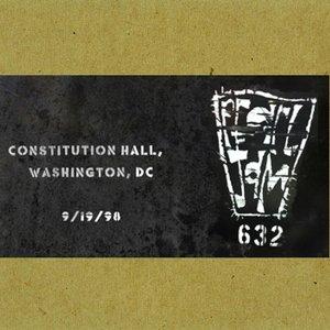 Imagen de '1998-09-19: Constitution Hall, Washington, DC, USA'