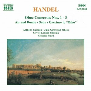 Image for 'HANDEL: Oboe Concertos Nos. 1- 3 / Suite in G Minor'