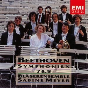Image for 'Beethoven: Symphonies Nos.7 & 8 · arr. for Wind Ensemble'