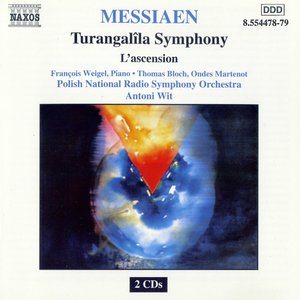 Image for 'MESSIAEN: Turangalila Symphony / L'ascension'