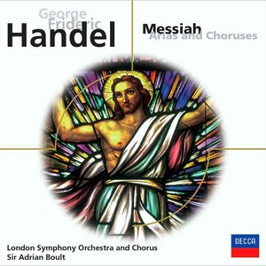 """Messiah Arias and Choruses (London Symphony Orchestra)""的封面"