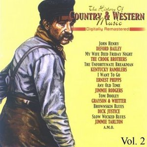 Image for 'The History of Country & Western Music, Volume  2'