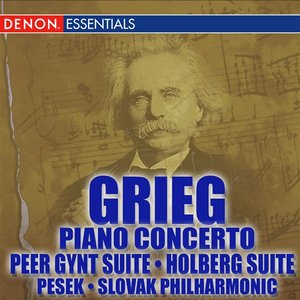 Image for 'Grieg Piano Concerto - Peer Gynt - Holberg Suite'