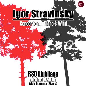 Image for 'Stravinsky: Concerto for Piano & Wind'